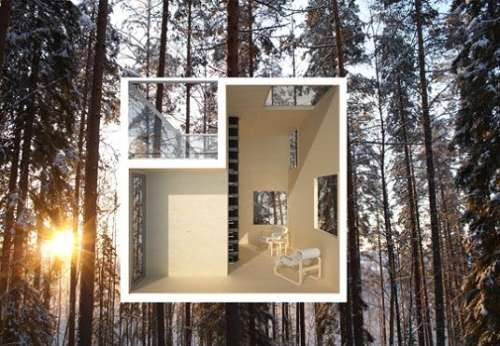 The Mirrorcube Tree House Sweden Reflective Journal